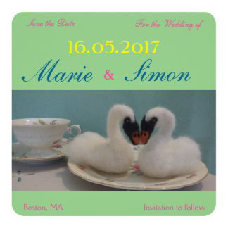 """""""Save the Date"""" card"""