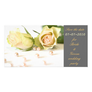 Save the date card photo greeting card