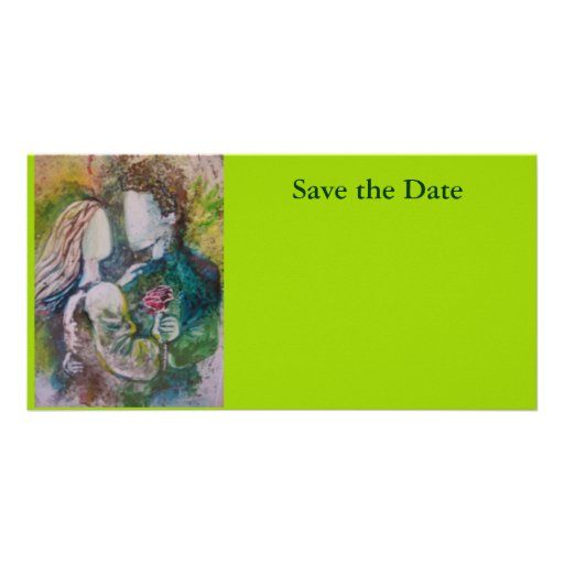 """""""Save The Date"""" Card Photo Card Template"""