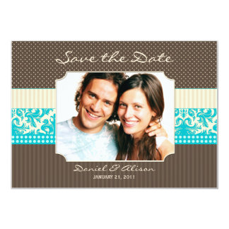 """Save the Date Cards 5"""" X 7"""" Invitation Card"""