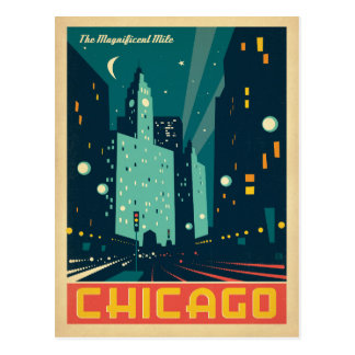 Save the Date | Chicago, IL The Magnificent Mile Postcard