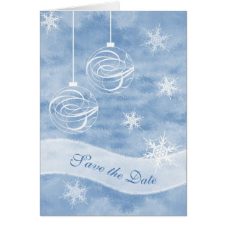 Save the Date Christmas Card