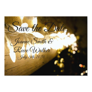 Save The Date | Classic Lights Card