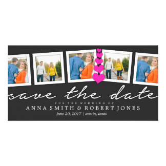 Save the Date Collage | WEDDINGS Personalized Photo Card