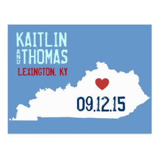 Save the Date - Customizable - Kentucky Postcard