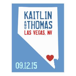 Save the Date - Customizable - Nevada Postcard
