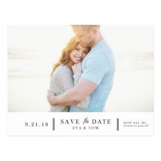 Save the Date - Eva Postcard