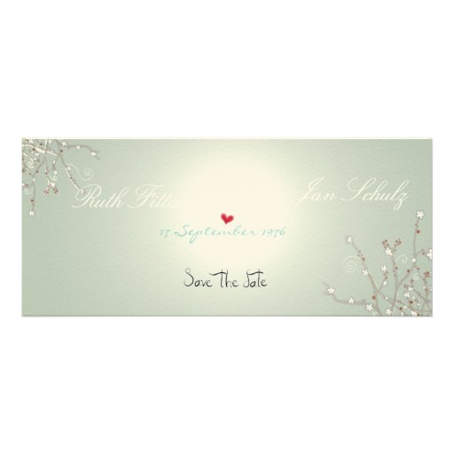 Save the date fine-art paper embossed class love announcements