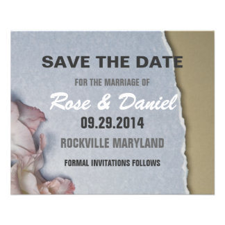 Save the date full color flyer