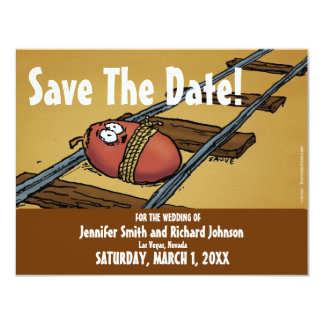 Save the Date Funny Wedding Date Invitation