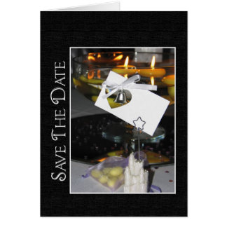 Save The Date Invitation Greeting Card