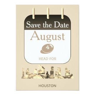 Save the Date Invitation - Houston