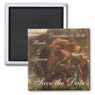 Save the Date! La Belle Dame sans Merci, Dicksee Magnet