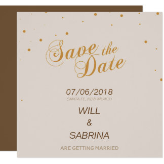 Save the Date - La Boca Card
