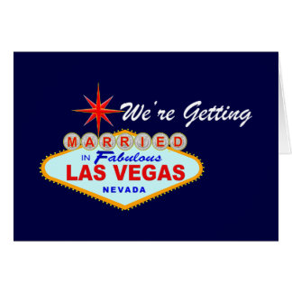 Save The Date - Las Vegas Card