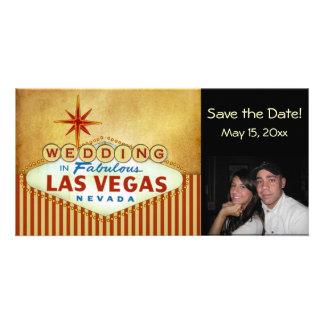 Save the Date Las Vegas Wedding Photocard Photo Cards