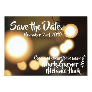 Save the Date | Lights Card