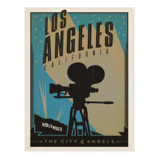 Save the Date | Los Angeles, CA Postcard