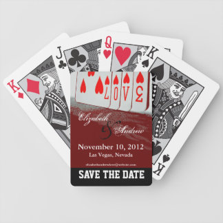 Save The Date Love Playing Cards 1