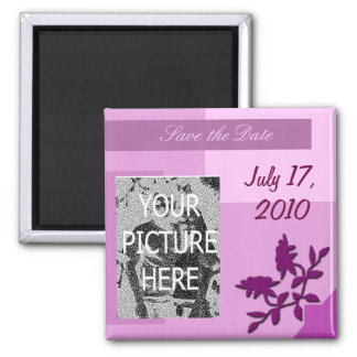 Save the Date Magnet with Photo