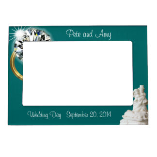 Save the Date Magnetic Frame-change background Magnetic Photo Frames