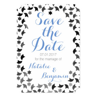 "Save the Date Mailer | Addresses on Back 5"" X 7"" Invitation Card"