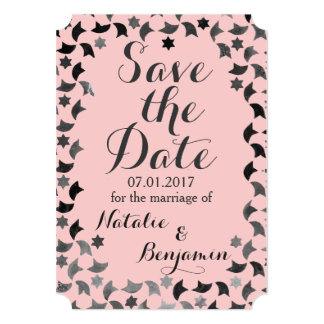 Save the Date Mailer  | Mosaic Invitation Template