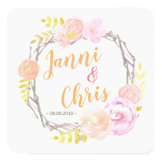 Save the DATE map | Circle OF Love Card