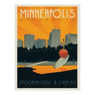 Save the Date   Minneapolis, MN Postcard
