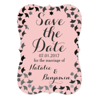 Save the Date | Mosaic Invitation | Custom Color