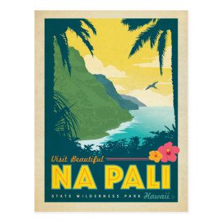Save the Date - Na Pali, Hawaii Postcard