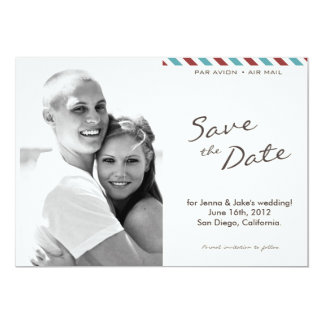Save the Date No. 4 Card