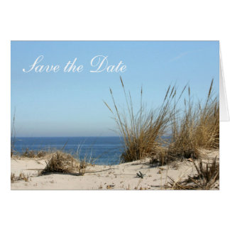 Save the Date Note Cards - Beach Theme
