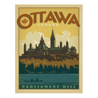 Save the Date | Ottawa, Canada Postcard