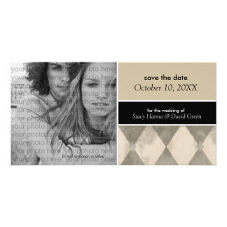 Save the Date Photo Card Announcements {Beige}