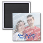 Save The Date! Photo Magnets Fridge Magnet