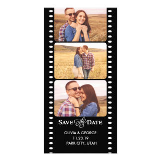 Save the Date | Photobooth Photocard Personalized Photo Card