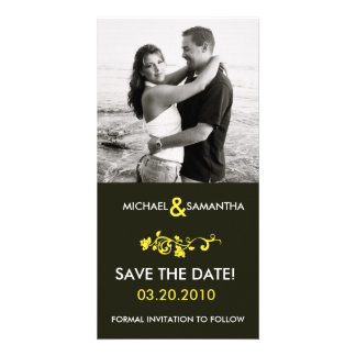 Save the Date Picture Card