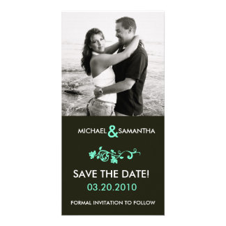 Save the Date Customized Photo Card