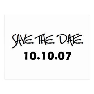 SAVE THE DATE Post Cards