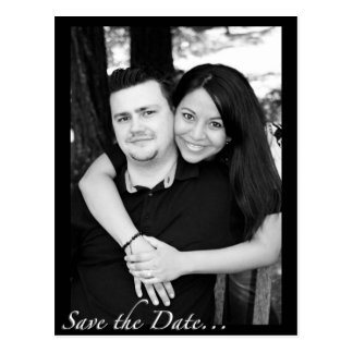 """Save the Date"" Postcard"