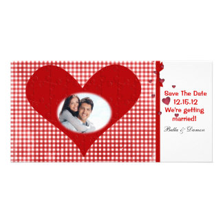Save the Date Postcard Personalized Photo Card