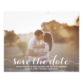 Save The Date Postcard Template Flyers
