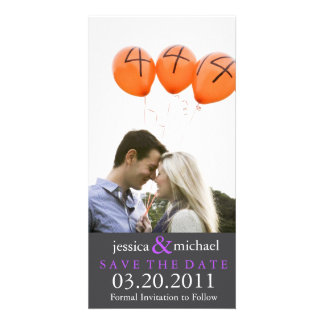 Save the Date | Purple Card