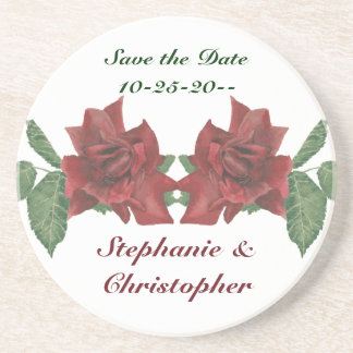 Save the Date Rose Coaster
