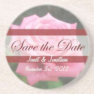 Save the date Roses Coasters