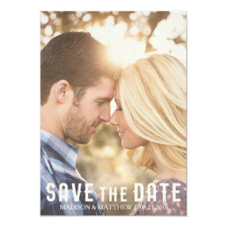Save the date rustic invitation vintage country