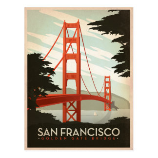 Save the Date | San Francisco, CA - Golden Gate 2 Postcard