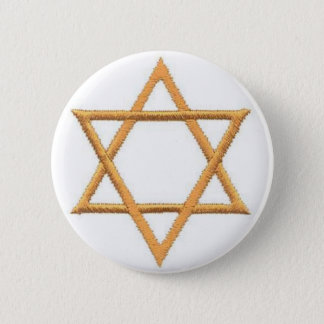 Save the Date/Star of David 2 Inch Round Button