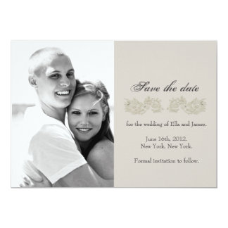 Save the date // Vintage Inspired Collection Personalized Announcement